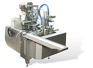 ARG filling, a packaging machine for sandwich packaging