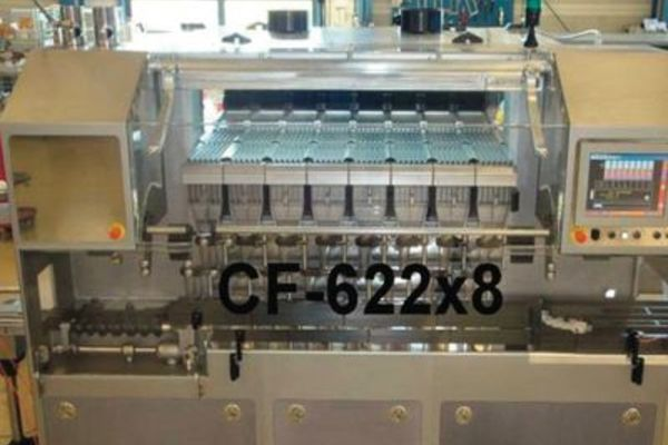 Cremer CF 622 counting machine, a new 10-head fast counting machine from Campak