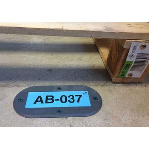 Inotec FloorBlock® RFID Removable Label, Removable RFID Ground Marking Solution