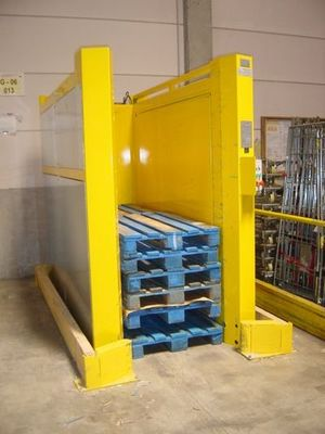 MAGAPAL® - The pallet magazine for a double pallet stack